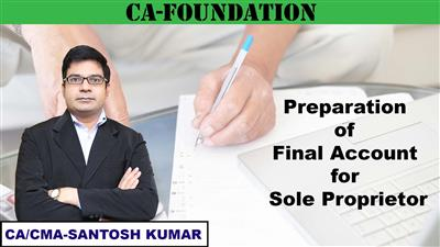 Preparation of Final Account for sole proprietors
