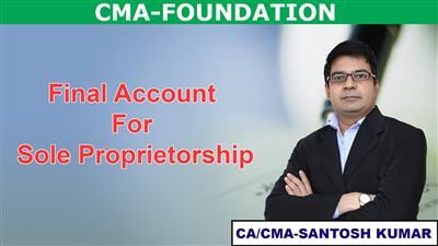 Final Account for sole proprietorship