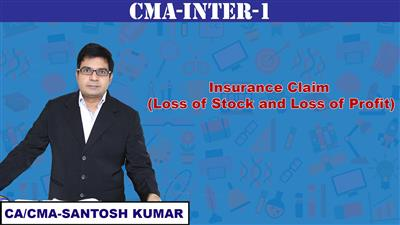 Insurance Claim (Loss of Stock and Loss of Profit)