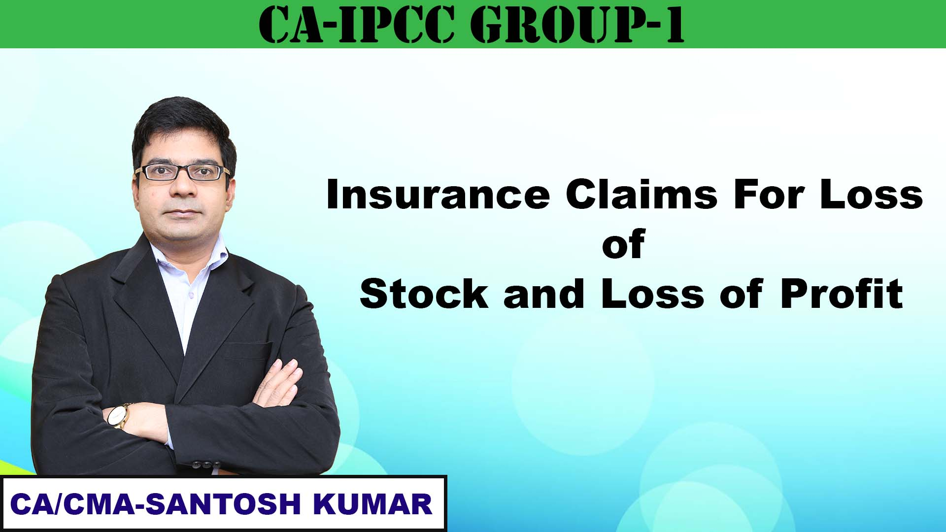 Insurance Claims for Loss of Stock and Loss of Profit