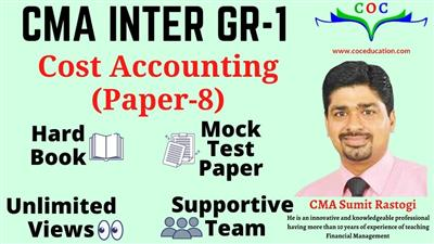 COST ACCOUNTING DEC. 2021