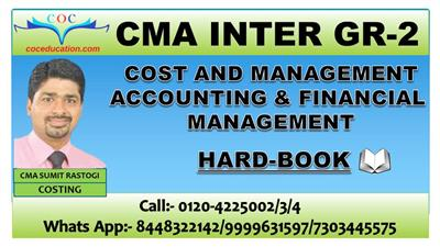 DEC. 2021 COST & MANAGEMENT ACCOUNTING AND FM