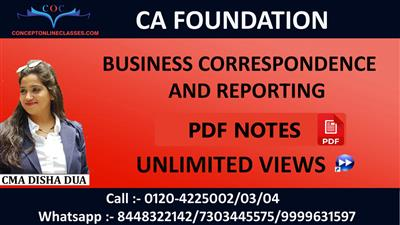 Nov. 20 Business Correspondence and Reporting
