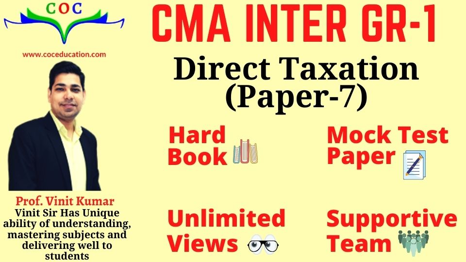 DIRECT TAXATION JUNE 2021
