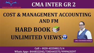 COST & MANAGEMENT ACCOUNTING AND FM  DEC. 2021