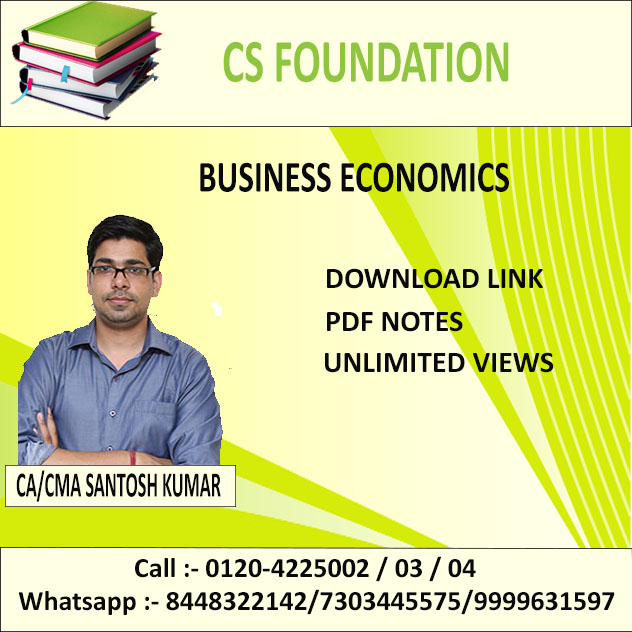 BUSINESS ECONOMICS (D-LINK+PDF NOTES) JUNE 2019