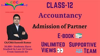 Admission of Partner