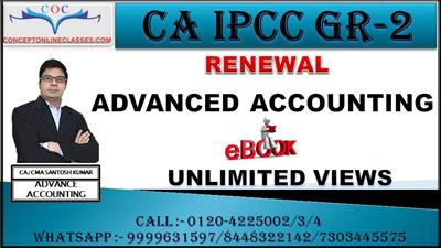 ADVANCED ACCOUNTING NOV 2020