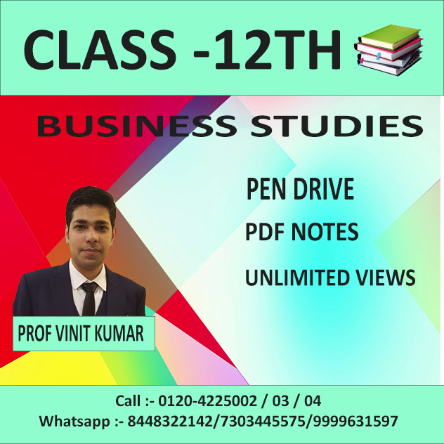 business studies (pen drive+pdf notes ) march 2020