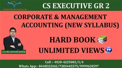 CORPORATE & MANAGEMENT ACCOUNTING DEC 2020