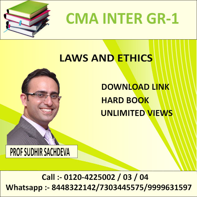 LAWS AND ETHICS (D-LINK+HARD BOOK)  DEC. 2019