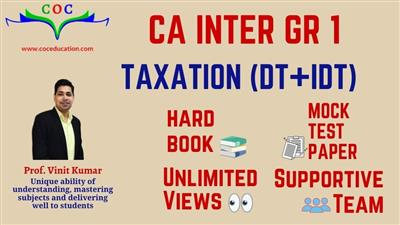 TAXATION (DT+IDT) MAY 2021