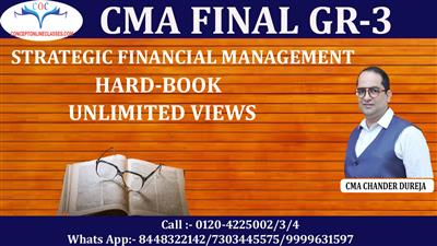 STRATEGIC FINANCIAL MANAGEMENT (SFM) DEC 2021