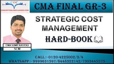 DEC. 2021 STRATEGIC COST MANAGEMENT-DECISION MAKING
