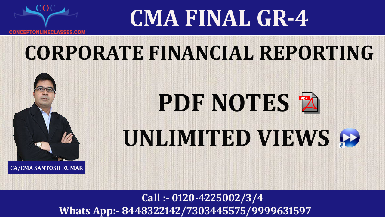 CORPORATE FINANCIAL REPORTING (CFR) JUNE 2020