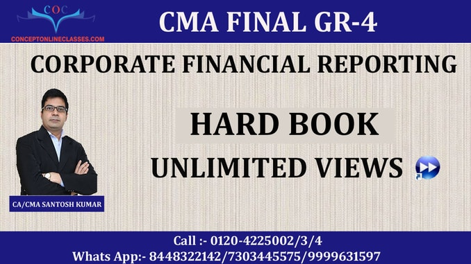 CORPORATE FINANCIAL REPORTING (CFR) DEC 2020