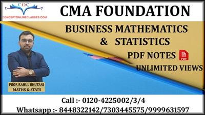 BUSINESS MATHEMATICS & STATISTICS JUNE 2021