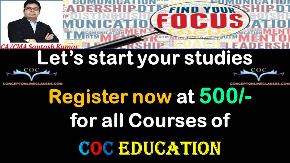 PRE-ADMISSION IN COC EDUCATION
