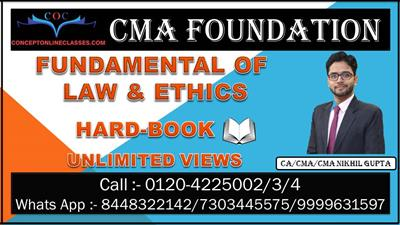 FUNDAMENTAL OF LAW & ETHICS JUNE 2021