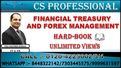 JUNE 2021 FINANCIAL TREASURY AND FOREX MANAGEMENT
