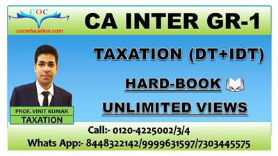 TAXATION (DT+IDT) NOV. 2021
